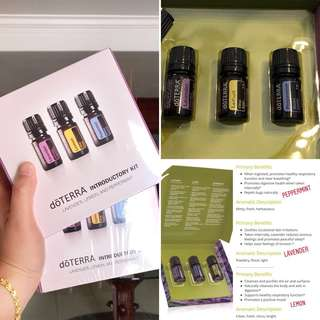 Doterra Essential Oil Intro Kit - 3 boxes