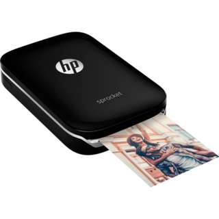 HP Sprocket Black Photo Printer (Sealed)