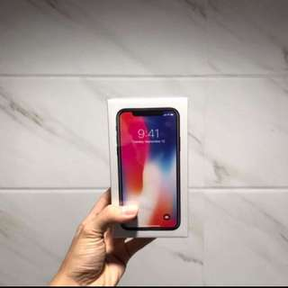 IPHONE X BRAND NEW 256 GB space gray