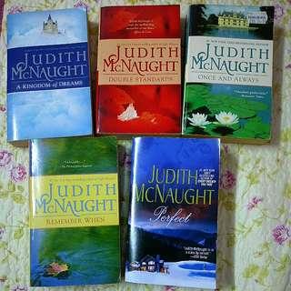 English Novels judith mcnaught #FEB50 romance