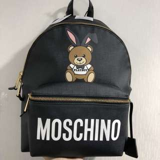 Moschino ✨playboy 🐻backpack (large size)