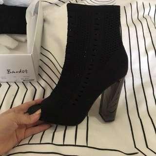 Bardot sock boots