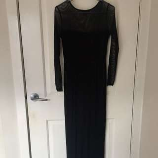 ASOS formal/long black maxi dress
