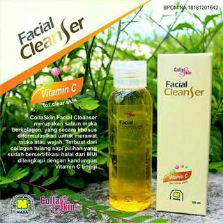 Colasakin facial cleanser
