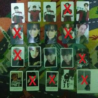 Got7 various photocard mark jinyoung yugyeom youngjae jb jackson bambam