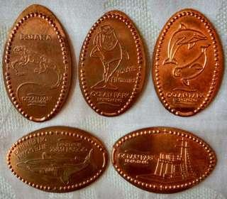 海洋公園記念幣