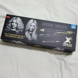 Hair curler and straightener