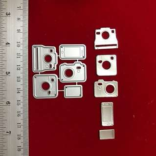 Camera & mobile phone scrapbooking Cutting dies