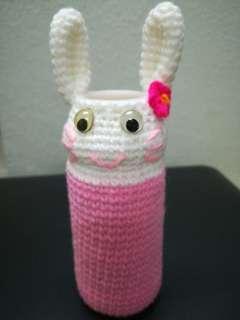 Rabbit stationery holder