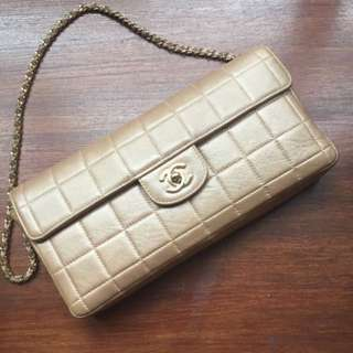 Chanel Champagne Blush Flap bag