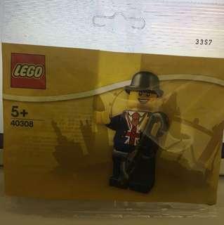Lego 40308 英國限定Minifigures 紳士