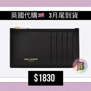 Saint Laurent Paris Card Holder