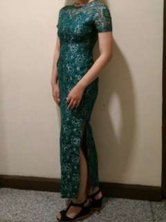 Dress Kebaya Diamond Green