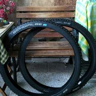 MTB used tyres Schwalbe
