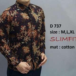 Kemeja Batik Slimfit Terfavorit