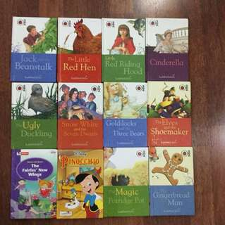 Lady bird n robin children's story books