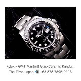 Rolex - GMT Master II Black Ceramic 'Random'