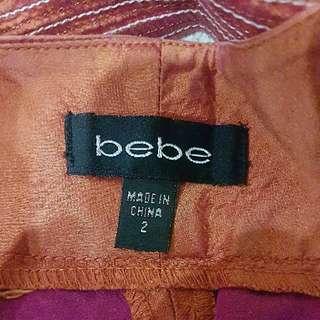 🔥SALE🔥 BEBE 2 tone pants