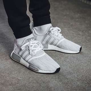 official photos b388a be22a Blizzard Adidas NMD R1 White Grey .. ...