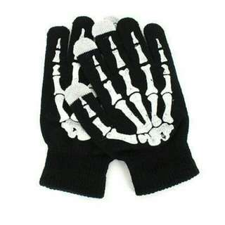Skeleton Glove Bones Hand Men Women Skull Hand