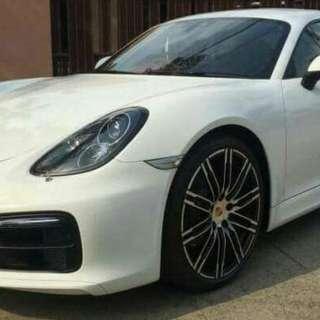 Porsche Cayman 981 PDK