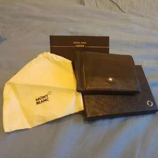 MONT BLANC Kreditkartentasvhe 6 CC Wallet 6CC with Money Clip