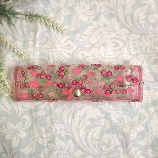 Cherry Pink Eyeglass Case