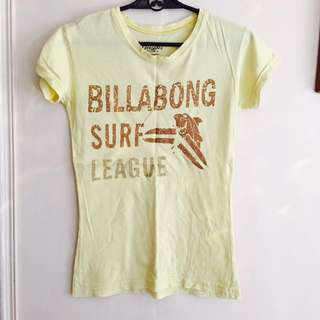 Billabong shirt ( yellow )