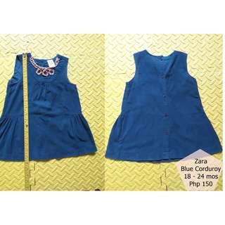 Zara Corduroy Dress