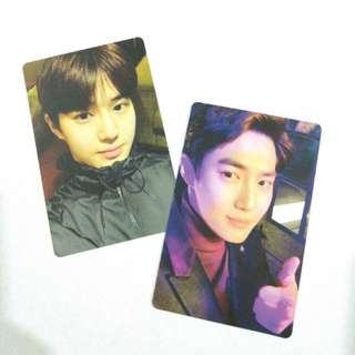 EXO SUHO JUNMYEON DEBUT 5TH ANNIVERSARY PHOTOCARD