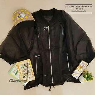 Jadior transparant jacket