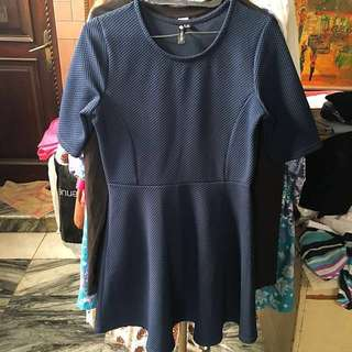 REPRICE! Cotton On navy blue dress