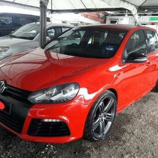 Volkswagen Golf GTI MK6 with GOLF R Facelift