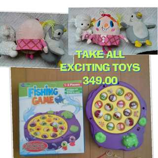 TAKE ALL TOYS FOR 349.00