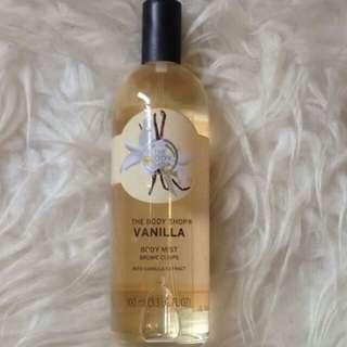 New!!! Vanilla Body Mist from The Body Shop