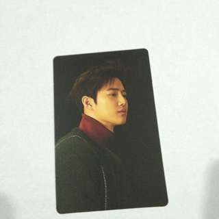 EXO SUHO FOR LIFE SUM EVENT PHOTOCARD