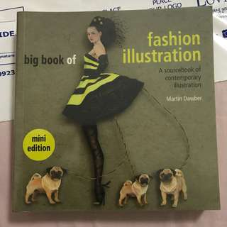 Big Book of Fashion Illustration (Mini Edition) by Martin Dawber