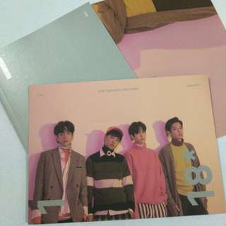 EXO 2018 SEASON GREETING MONTHLY PLANNER BROMIDE PHOTOCARD
