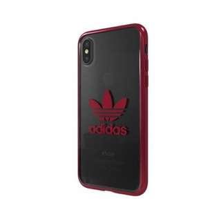 Addias 原裝正品 IPhone X 邊明手機殻