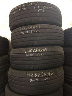 205/60R16 Toyo Used Tyre