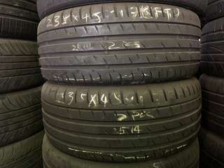 235/45R17 Continental Run Flat Used tyres