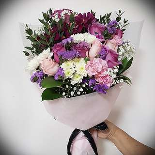 Fresh flowers : Birthday , anniversary, presentation bouquet