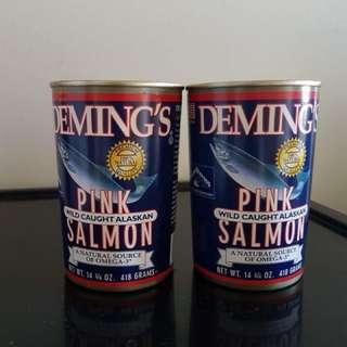 Deming's Pink Salmon