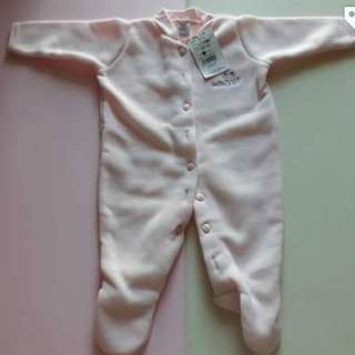Bebe sleepsuits 3 to 6 months brand new