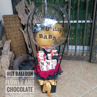 Chocolate Bouquet Hot Balloon