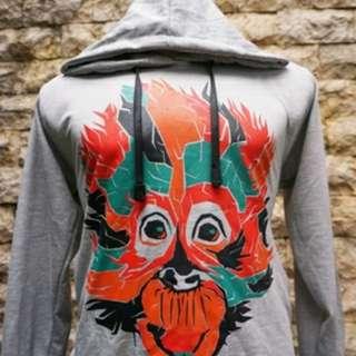 Hoodie Orangutan Campaign Grey