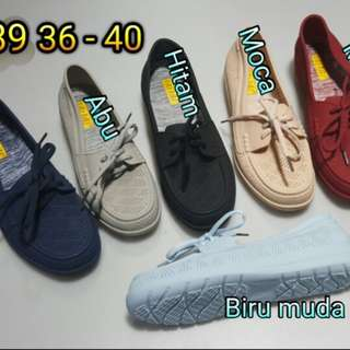 Jelly Shoes Bahan Karet Import