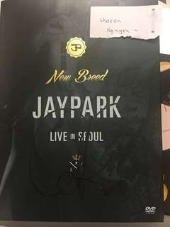 [signed] Jay Park Nee Breed - Live in Seoul