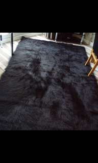 FAUX FUR CARPET 6x4 ft