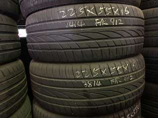225/55R16 Falken Used Tyres